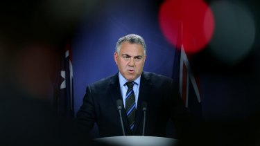 Treasurer Joe Hockey flagged the prospect of Australians living until the age of 150 during a defence of the government's budget cuts.
