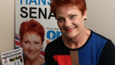 Queensland's premier says Pauline Hanson's views are out of touch with most people in the state.