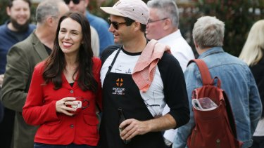 NZ Labour leader Jacinda Ardern.