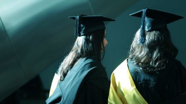 Graduation blues: Many economics subjects are disappearing in 2015 at La Trobe.