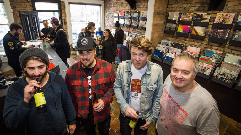 Vinyl Revival From Booming Online To Bricks And Mortar Stores