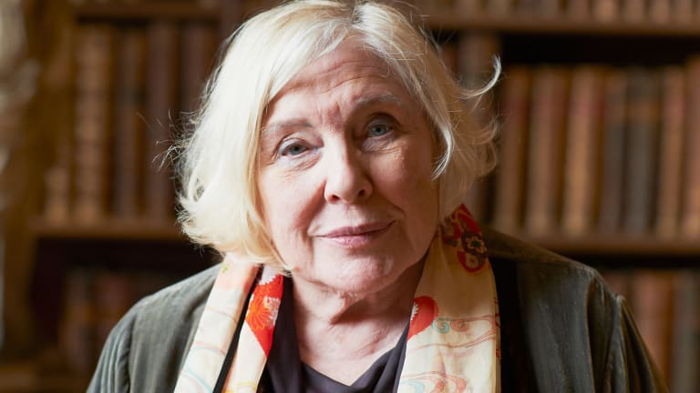 Author Fay Weldon.