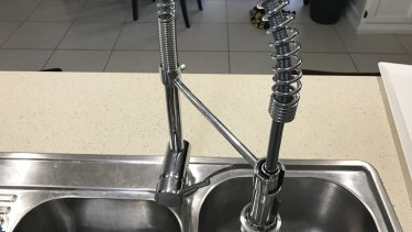 The Easy Home spiral spring mixer tap.