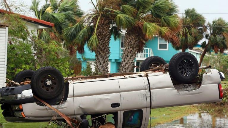 Hurricane Harvey downgraded, flooding and torrential rain ...
