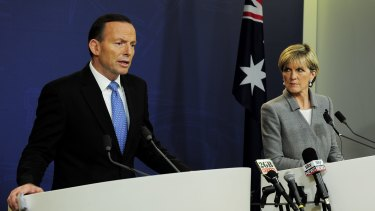 By speaking earlier and more plainly than other international leaders, Tony Abbott and Julie Bishop have stiffened the West's response to the MH17 outrage.