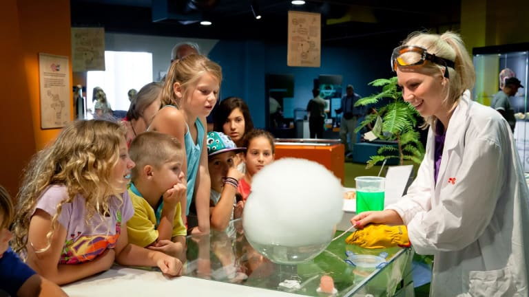 Questacon is a favourite with school children and families.