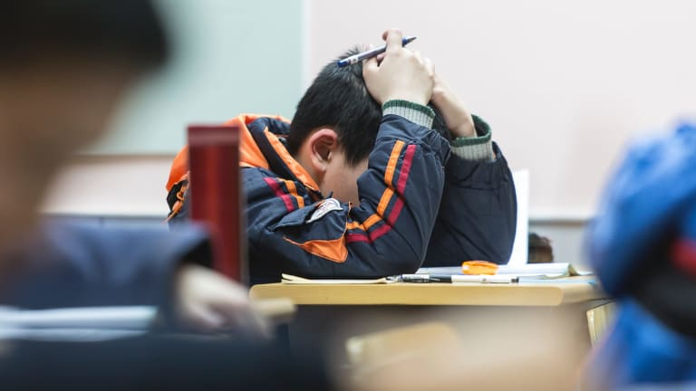 Australian children's academic performance is deteriorating, but some teachers refuse to acknowledge there's a problem.