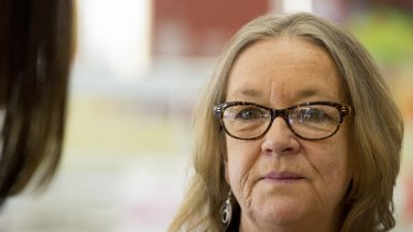 Dumped: Police Minister Joy Burch.