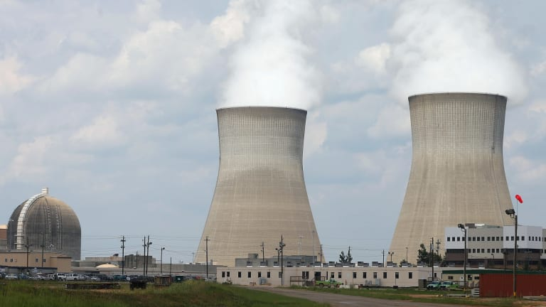 Nuclear power plants in the US.