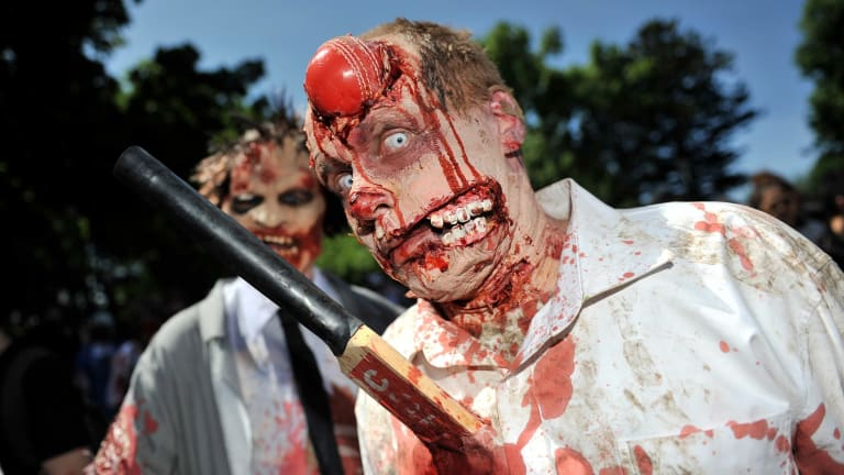 Hordes of zombies have shuffled through Melbourne streets over the past few years.