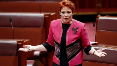 Senator Pauline Hanson is understood to want Malcolm Roberts over Fraser Anning but may not get a choice.