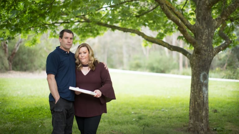 Kirsty and Aaron McConnell lost their daughter Lily to a genetic disorder.