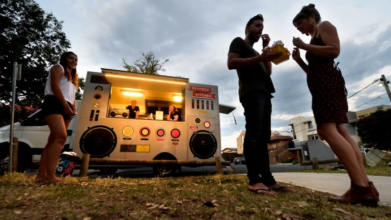 Beatbox Kitchen was started with an informal crowd-funding method, founder Raph Rashid says.