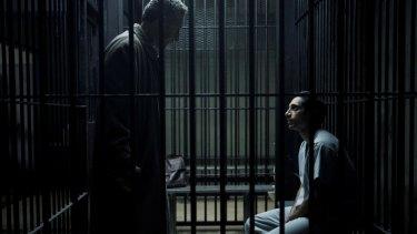 John Turturro (left) and Riz Ahmed in <i>The Night Of</i>.
