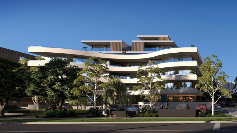 Auyin Property Development's $120 million project at 212-216 Bay Road, Sandringham.