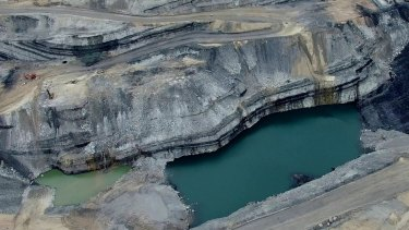 Whitehaven says drought - not its Werris Creek coal mine - is to blame for a drop in water levels in nearby bores.