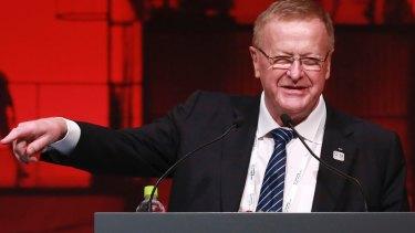 AOC president John Coates.