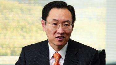 Epson president Minoru Usui.