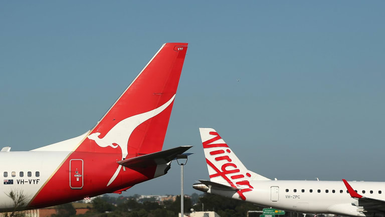 Qantas and Virgin tried to engage in the fare-cutting war but both were wounded.