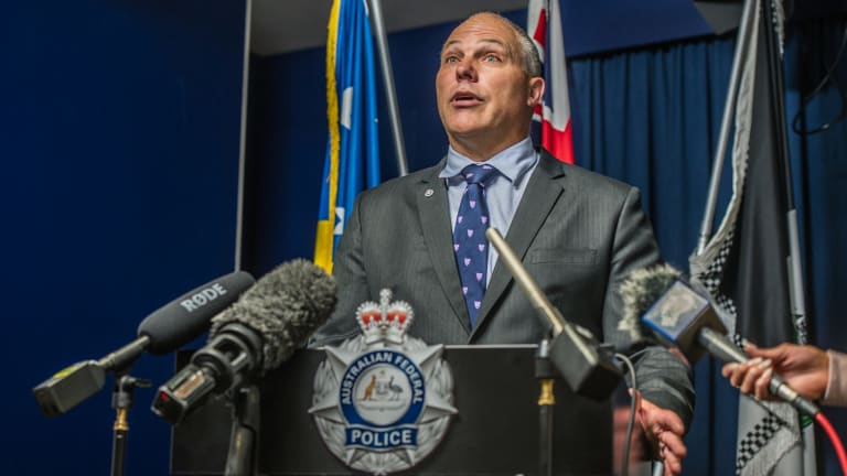 ACT Policing Detective Superintendent Scott Moller confirmed the identity of the three bodies found in the Bonner house fire as Anne Muhoro and her son Ezvin and daughter Furaha.