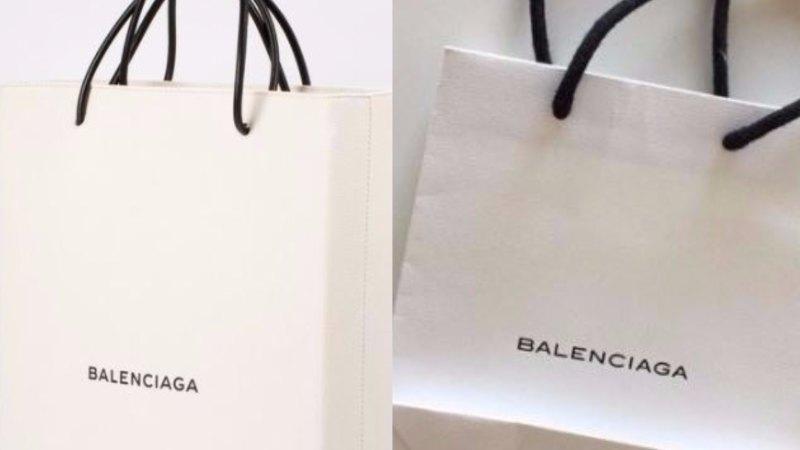 5f48c369be38d Balenciaga's $1457 'shopping bag' sends social media into a tizzy