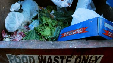 The average Melburnian generates about 207 kilograms of food waste a year.