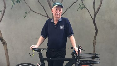 Laurie Duncan copped a $152 fine for passing on the left of an unmoving car in Melbourne's CBD.