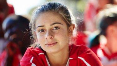 Emmanuelle Mattana as Marnie in Mustangs FC.