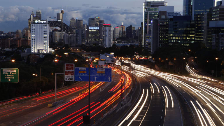 Roads will be less important in the new Sydney as metros connect and distribute residents.