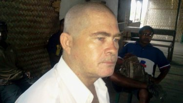 Dismissed from office: Former Manus Island MP Ronny Knight appeared on Radio National on Monday.