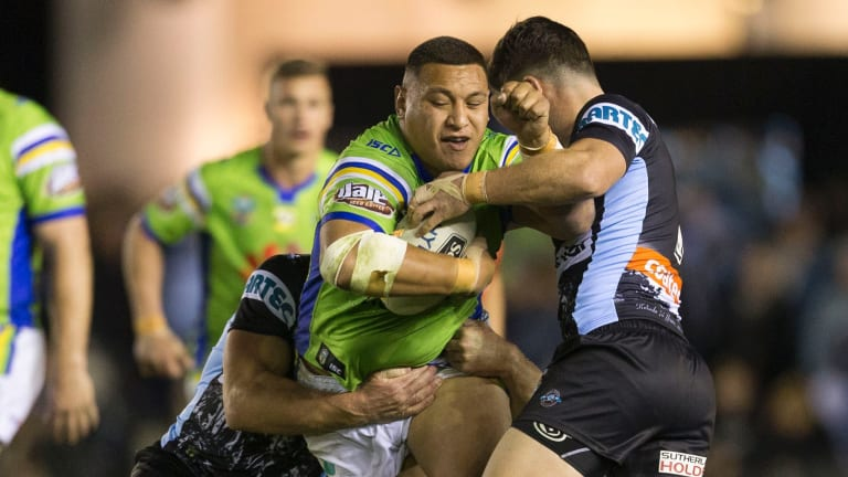 Raiders forward Josh Papalii was going to miss the World Cup.