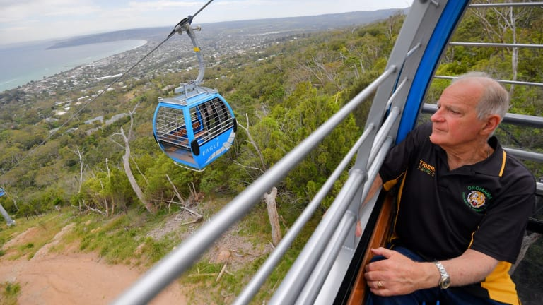 At Last Arthurs Seat Eagle Cable Car To Open Within Weeks