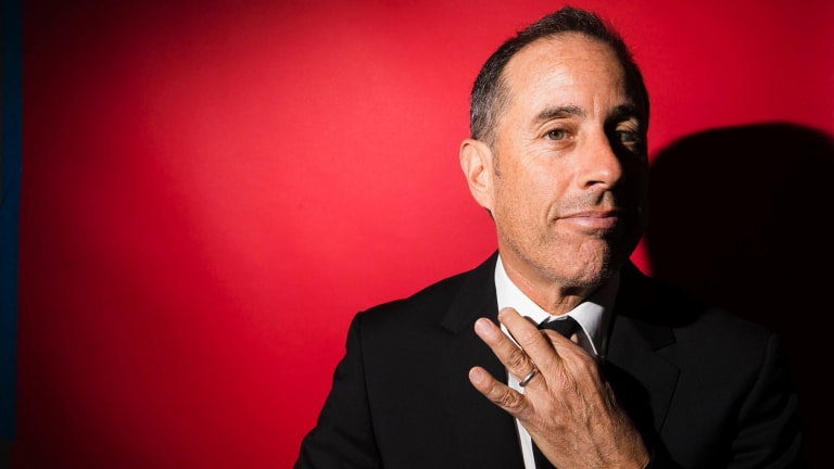 Jerry Seinfeld at the Beacon Theater, where he will perform 20 new stand-up shows in 2019.