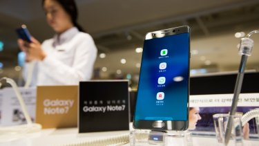 The Note7 was removed from shelves in October, 2016.