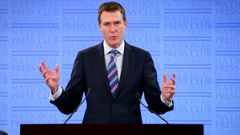 Social Services Minister Christian Porter.