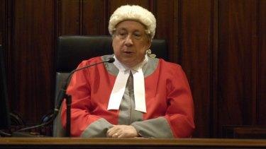 Bench press: Justice Paul Coghlan.