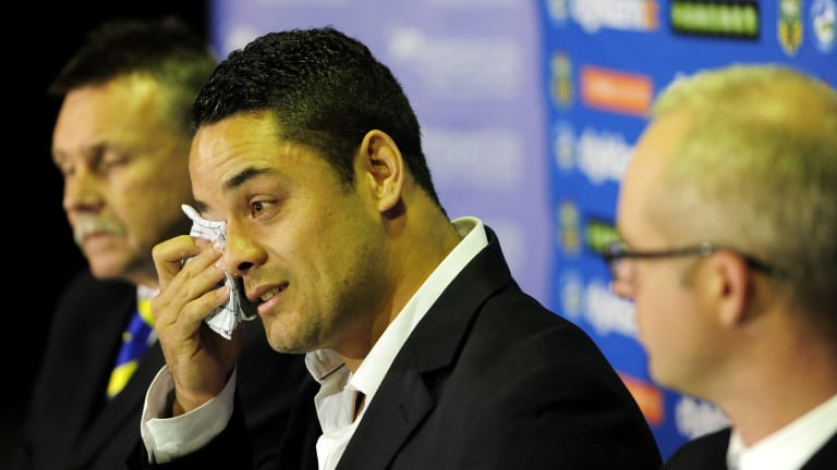 """My whole dream of being a professional athlete was to buy my mum a house and I did that. Everything else is a bonus"": Hayne."