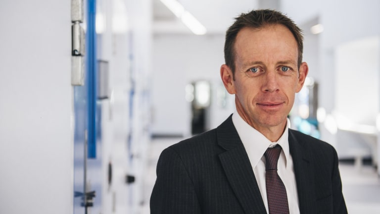 """Corrections Minister Shane Rattenbury, pictured, described the lack of prison work programs as a """"gap"""" in the Alexander Maconochie Centre's rehabilitation efforts."""