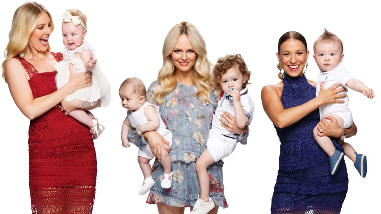 The cast of <i>Yummy Mummies</i>, coming to Seven's online platform for a second series in 2018.