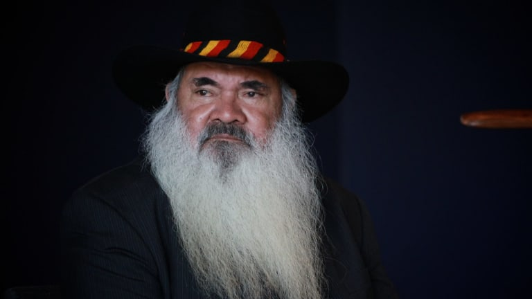 Aboriginal leader Patrick Dodson.