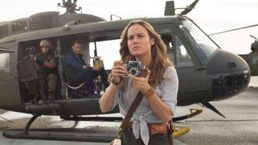 Brie Larson as photojournalist Mason Weaver.