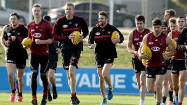 Essendon Football Club has welcomed students from Ararat College, showing the country students the wide array of jobs that can be involved in getting an AFL team on to the field.