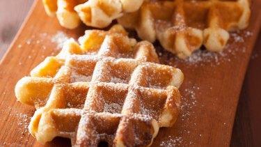 Belgian Waffles image Shutterstock