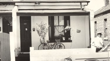 The house where the two women's bodies were found in 1977.