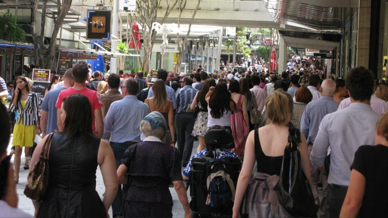 Retail sales have fallen for two months in a row, according to ABS figures.