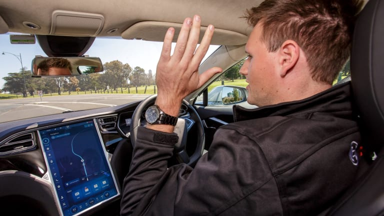 More trials of self-driving cars are under way in Canberra and across Australia.