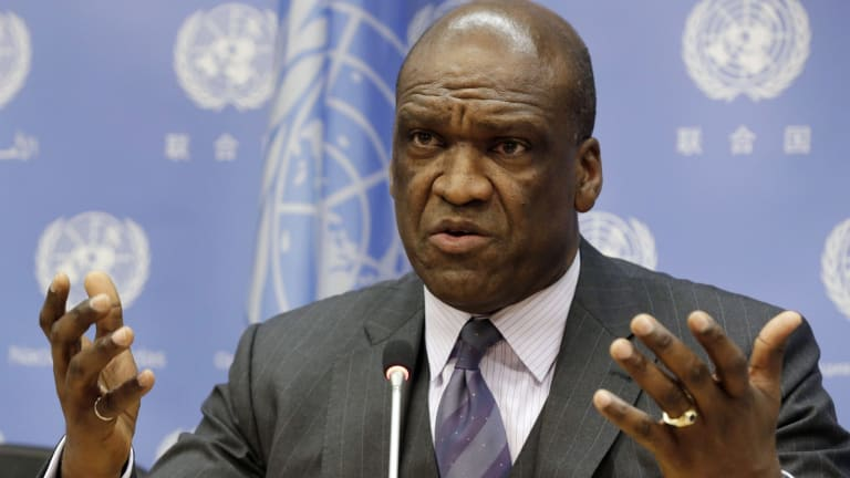 John Ashe, the former ambassador to the UN for Antigua and Barbuda, is accused of taking $US1.3 million in bribes