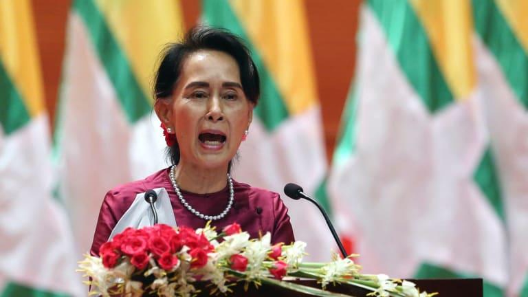 The majority of Burmese applauded their devout Buddhist de facto leader Aung San Suu Kyi's televised speech last week.