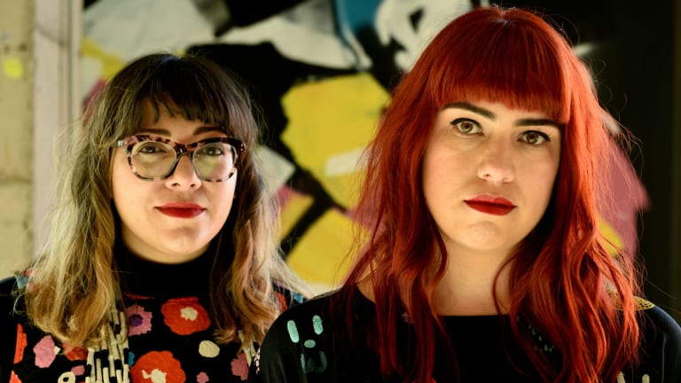 """Vivid Ideas curator Jess Scully and UTS tutor Ngaio Parr aim to """"create a more supportive network among creative women in Australia""""."""