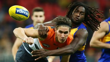 Impressive GWS big man Rory Lobb is in hot demand with WA's two AFL clubs.